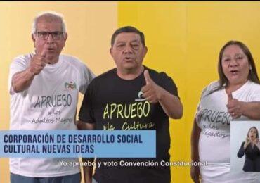 Organizaciones sociales de Pudahuel se suman a la franja televisiva del plebiscito