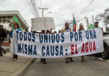"""Coordinador de MODATIMA por zona de escasez hídrica en Pudahuel : """"El modelo económico actual se dedica a extraer y a extraer"""""""