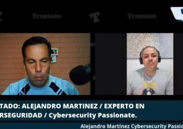 """Alejandro Martínez y seguridad digital: """"En redes sociales entregamos información que puede ser usada en nuestra contra"""""""