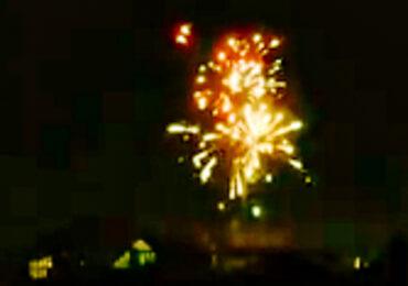 Bengalas, explosiones y balas atemorizan a vecinos de Pudahuel y Cerro Navia en Navidad
