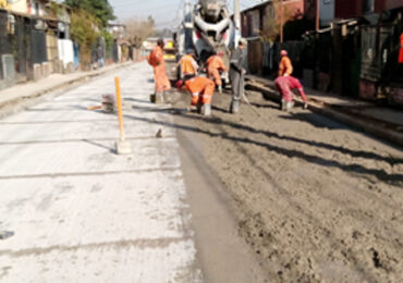 Comienza una nueva versión del Programa Pavimentos Participativos en Pudahuel