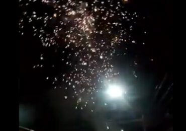 Se repiten en Pudahuel y Cerro Navia los fuegos artificiales intensos y de una menor duración