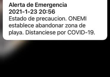 Alarma sonora en celulares y posterior temblor causa temor en Pudahuel y Cerro Navia