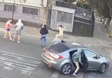 Delincuentes asaltan a jóvenes a plena luz del día en sector Enea en Pudahuel