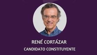 René Cortázar, candidato constituyente: No quiero discutir qué pasó antes. La pega es saber que hacer ahora