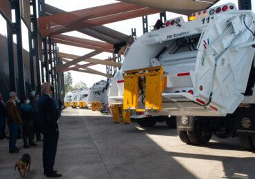 Con camiones nuevos y de alta tecnología Transfich inicia recolección de basura domiciliaria en Pudahuel