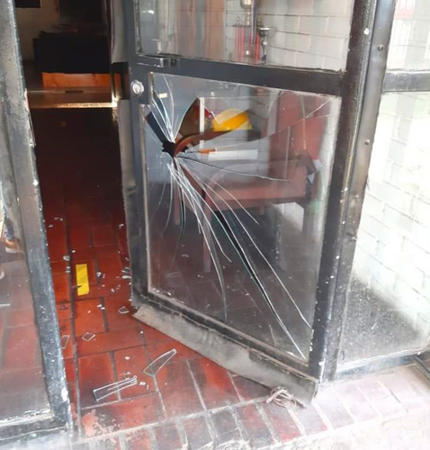 Sujetos causan diversos daños a cuartel de bomberos en Pudahuel Sur