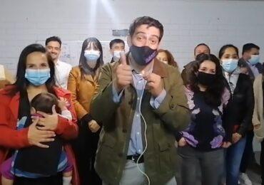 Mauro Tamayo arrasa y sigue siendo alcalde de Cerro Navia