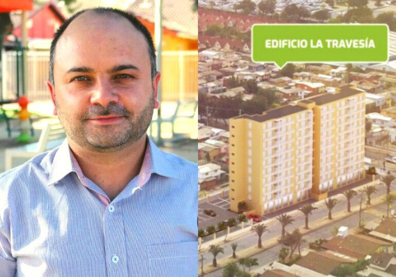 Constructora de Estrella con Travesía busca acallar a candidato concejal, Sebastián Viñambres