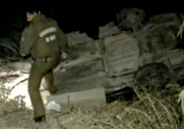Accidente de tránsito en Pudahuel rural deja un fallecido
