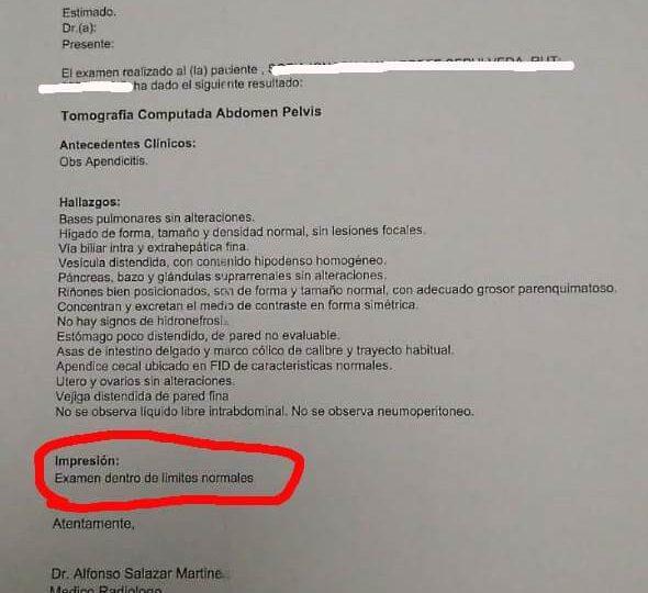 """Vecino de Pudahuel denuncia negligencia en Hospital del Profesor: """"Lo único que les importó fue la plata"""""""