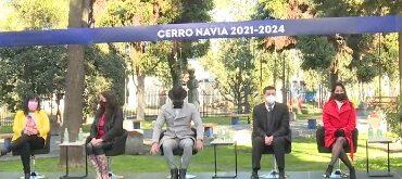 Cambio de mando en Cerro Navia: Así fue la ceremonia de asunción