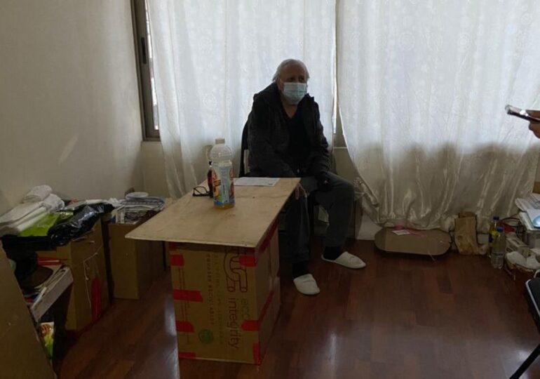 """""""Apadrina una Arrguita"""" de Pudahuel inicia campaña para ayudar a adulto mayor  que expuso su caso en Televisión"""