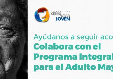 Fundación Cerro Navia Joven busca aportes para el Programa Integral para el Adulto Mayor