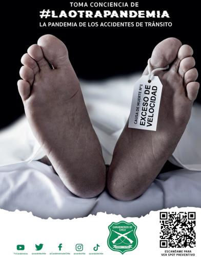 Campaña para evitar accidentes de tránsito en fiestas patrias: La pandemia que no tiene vacuna