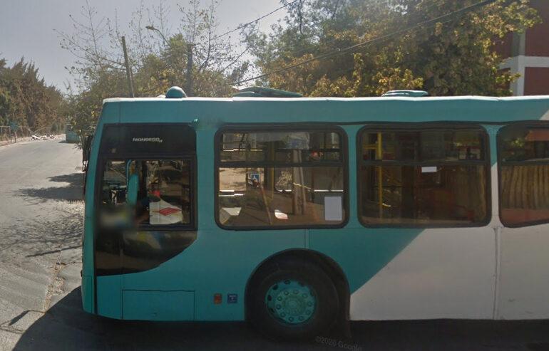 Pasajeros son asaltados al interior de bus recorrido 110 en Pudahuel