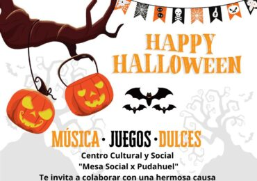 Mesa Social Pudahuel parte campaña para regalar 2 mil bolsas de dulces en Hallowen