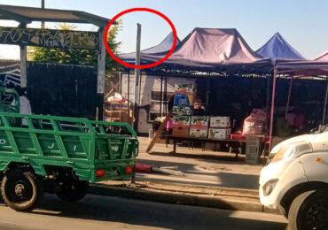 A 48 horas de ser instaladas señales de tránsito son destruidas en Pudahuel